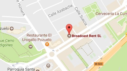 Dónde Estamos - Broadcast Rent